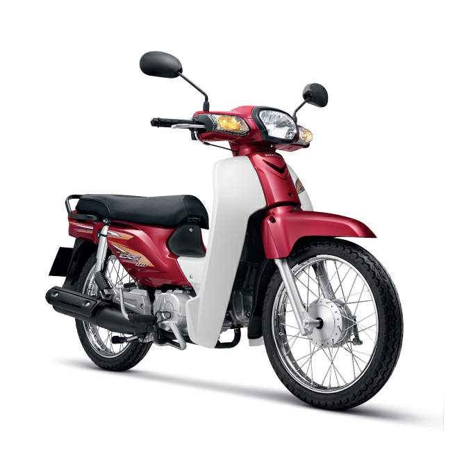 Мотоцикл Honda C 100 EX Super Cub (Scooter) 1986
