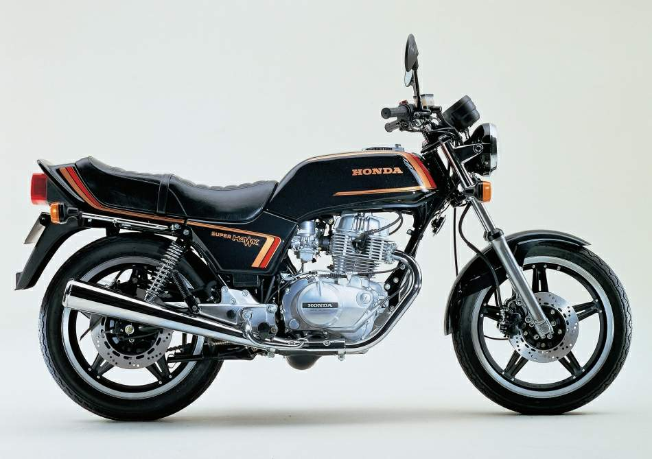 Мотоцикл Honda CB 250 Super Hawk 1981
