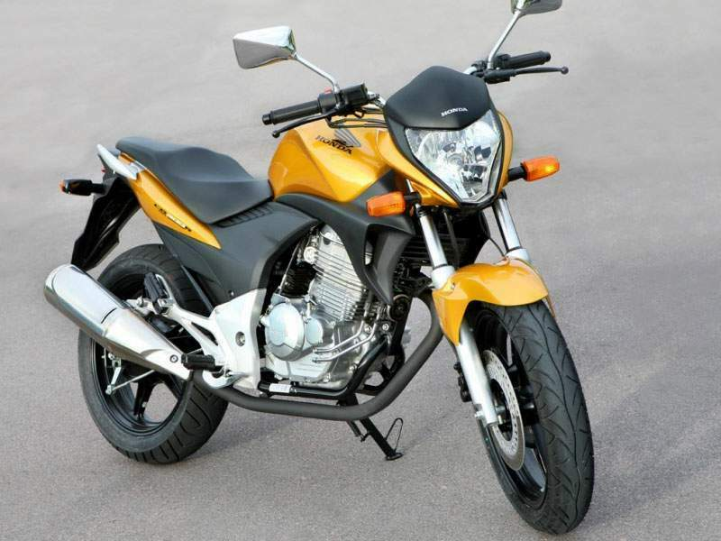 Мотоцикл Honda CB 300R (Brazilian model) 2010