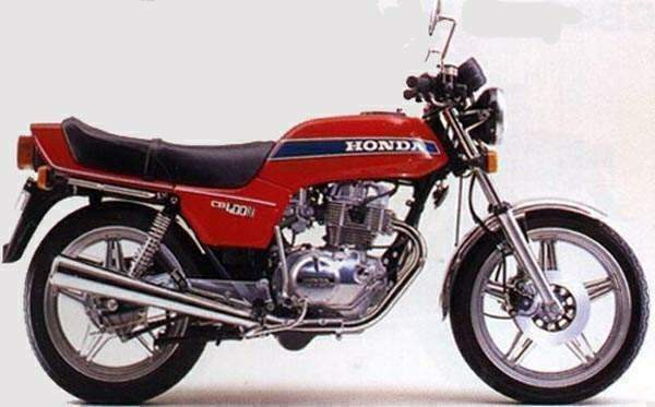 Мотоцикл Honda CB 400N Super Dream 1978