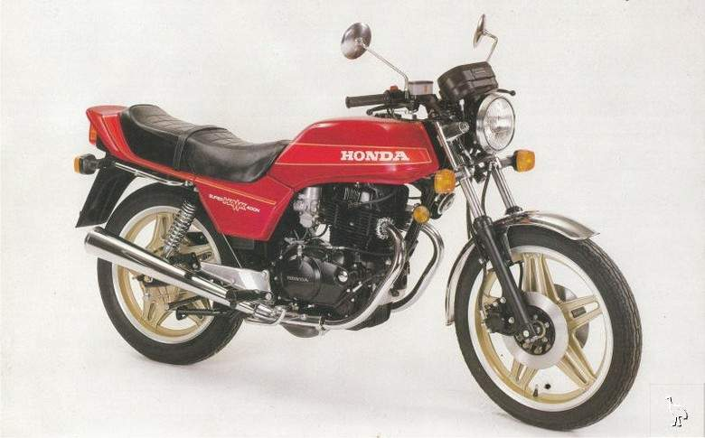 Мотоцикл Honda CB 400N Super Dream 1983