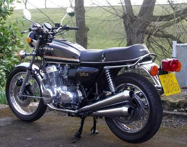 honda cb 750 four k: