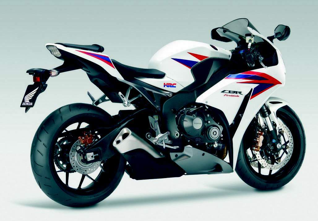 Мотоцикл Honda CBR 1000RR Tricolour HRC 2012 Описание