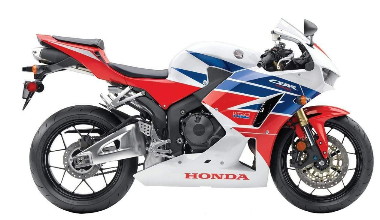 Мотоцикл Honda CBR 600RR TricolourHRC 2013 Описание, Фото