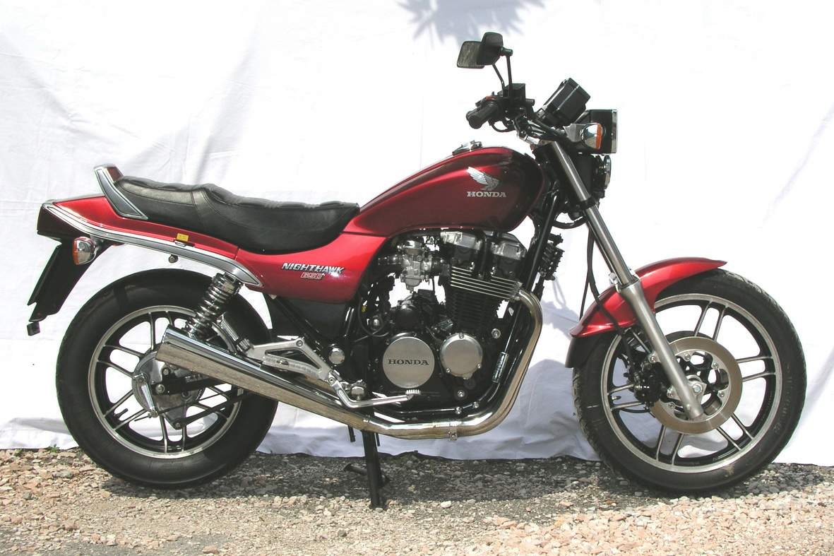 Мотоцикл Honda CBX 650SC Night Hawk 1982
