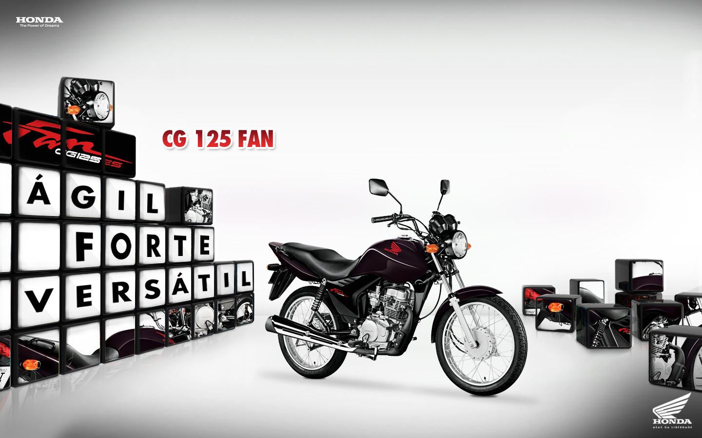 Мотоцикл Honda CG 125 Fan 2012