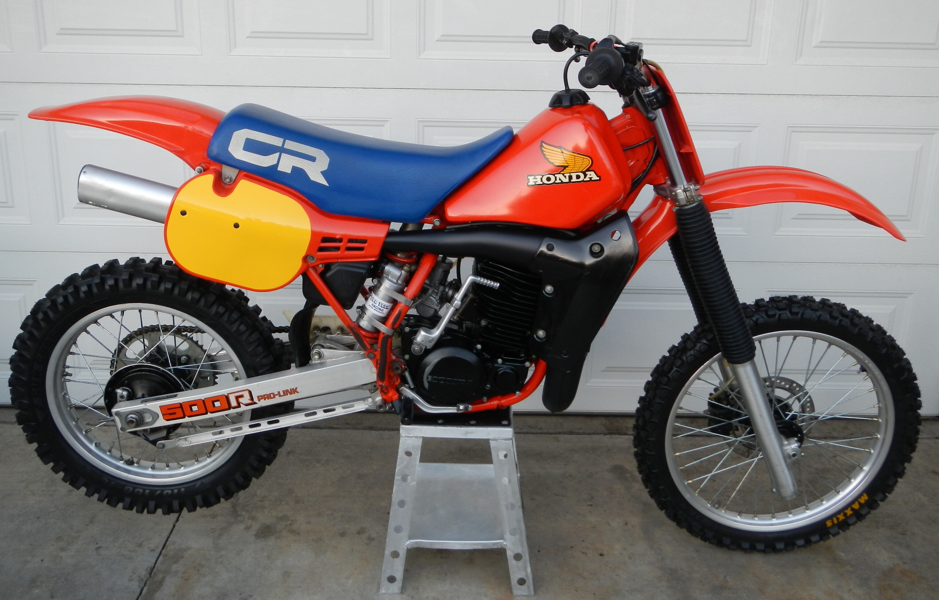 honda cr 500 r 1984. Black Bedroom Furniture Sets. Home Design Ideas