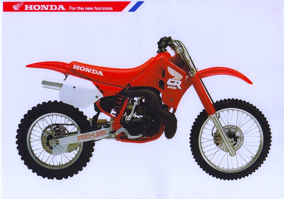 Honda cr 500 r 1988 for Honda cr 500