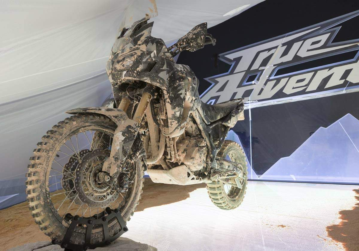 Мотоцикл Honda CRF 1000L Africa Twin / True Adventure Prototype 2015