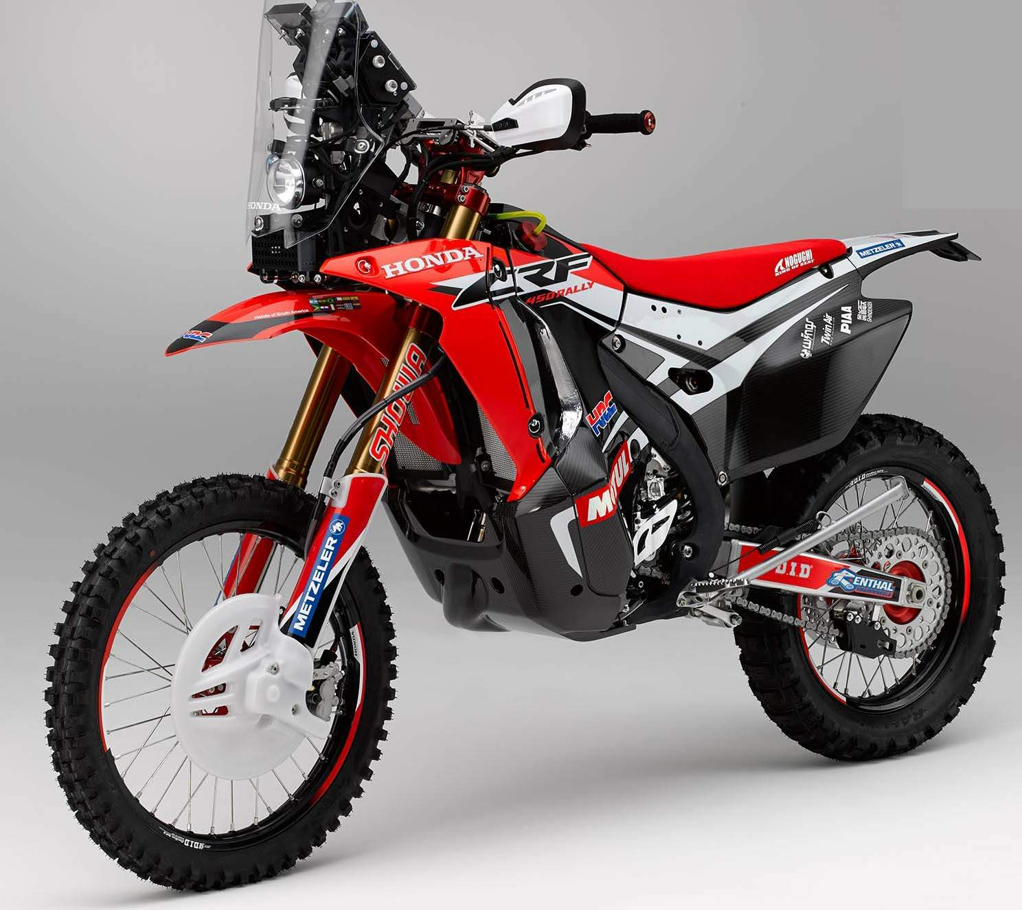Мотоцикл Honda CRF 450 Rally 2015