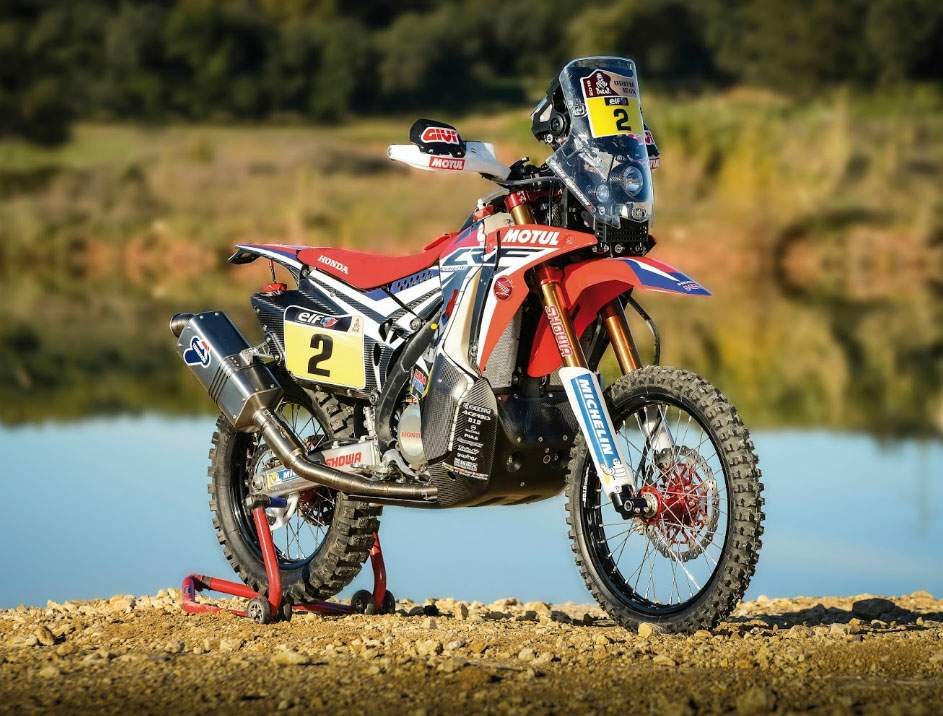 Мотоцикл Honda CRF 450 Rally 2016