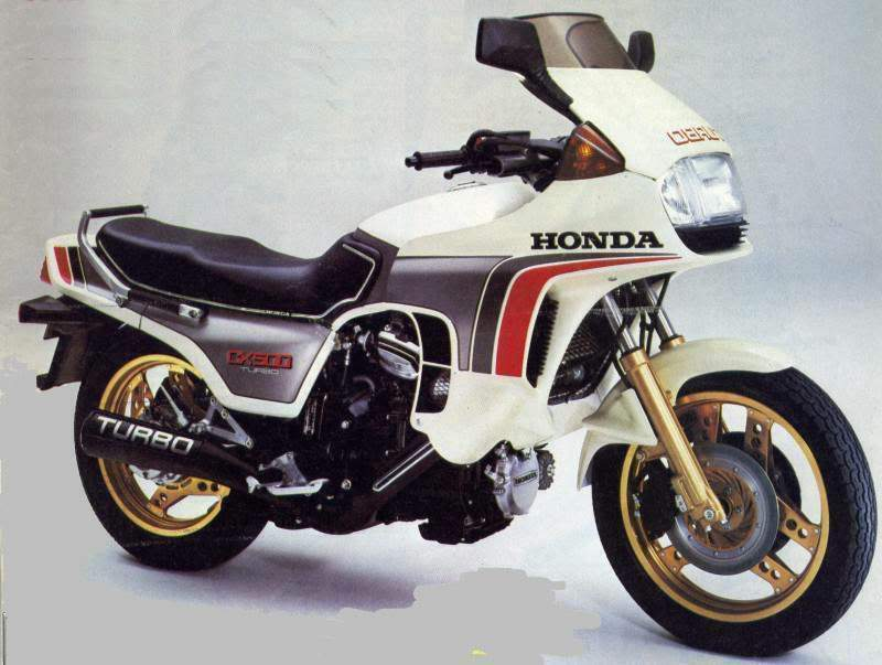 Мотоцикл Honda CX 500TC Turbo 1982