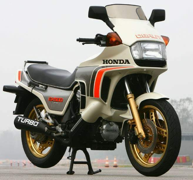 Мотоцикл Honda CX 650TC Turbo 1983