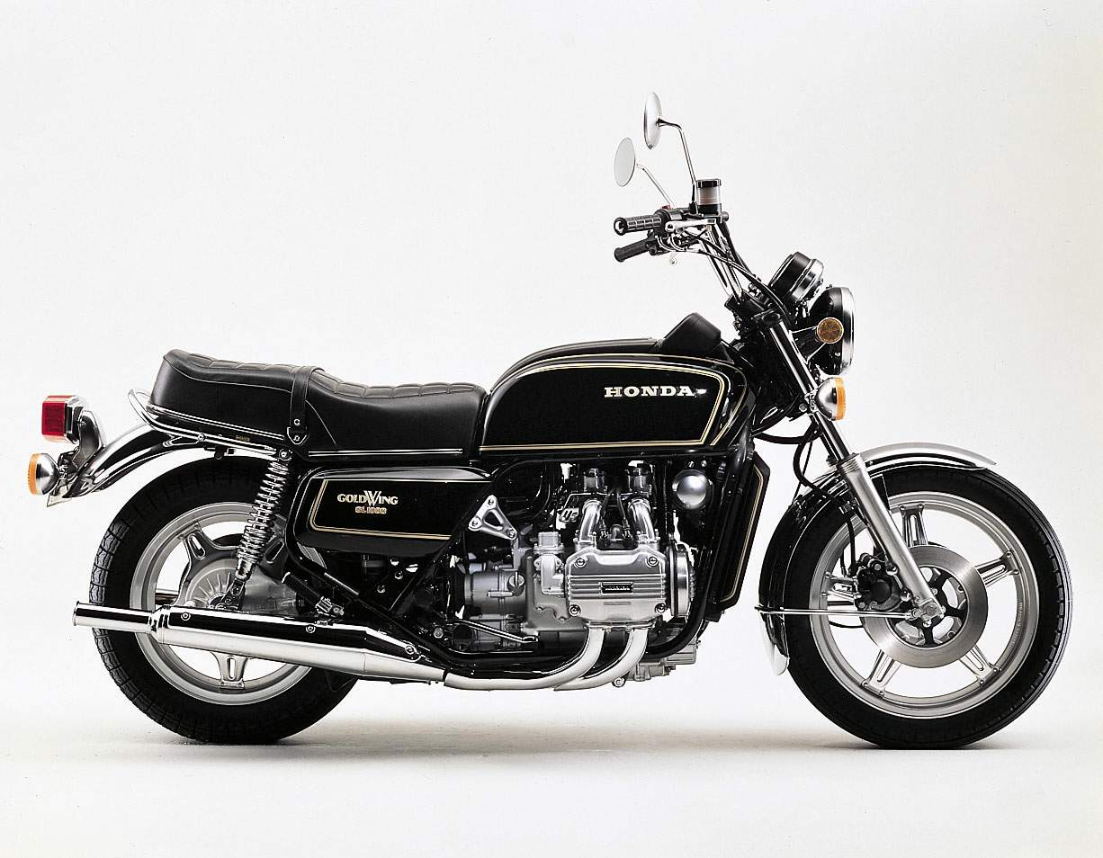 Мотоцикл Honda GL 1000 Gold Wing 1978
