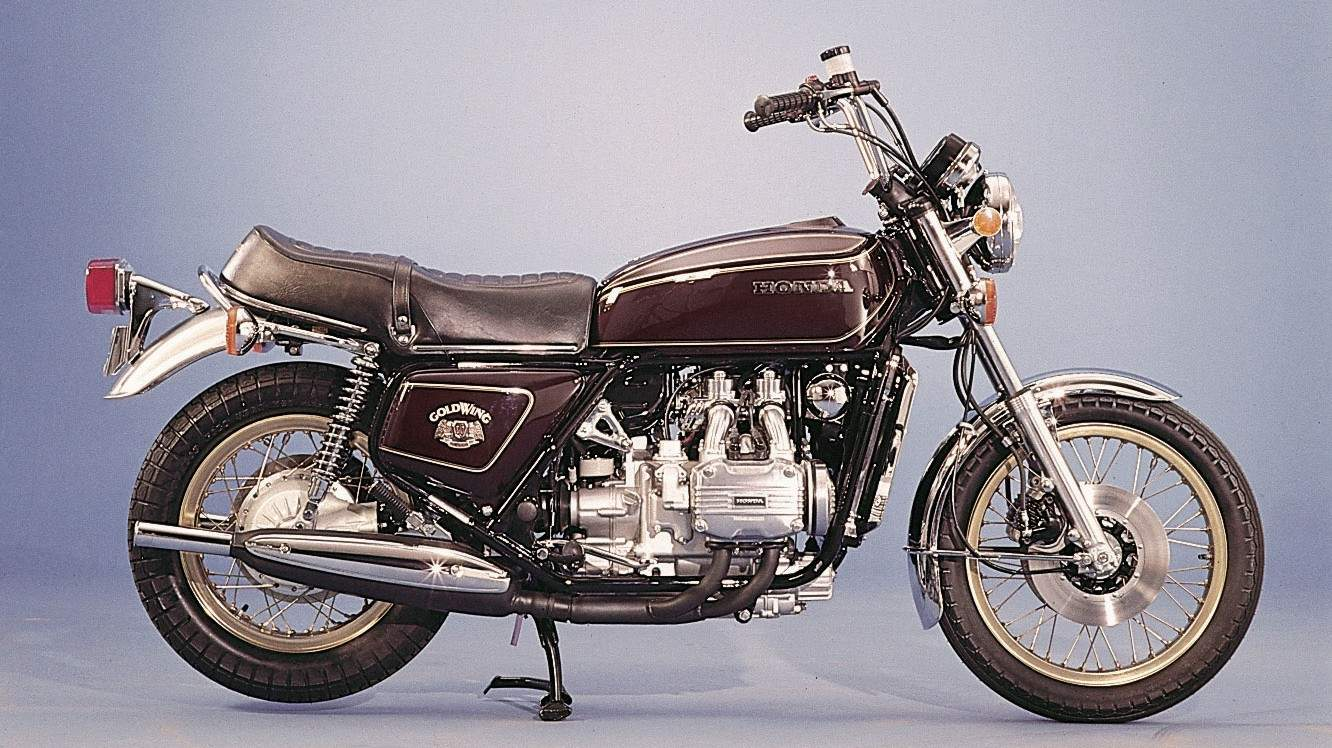 Мотоцикл Honda GL 1000 Goldwing LTD 1976