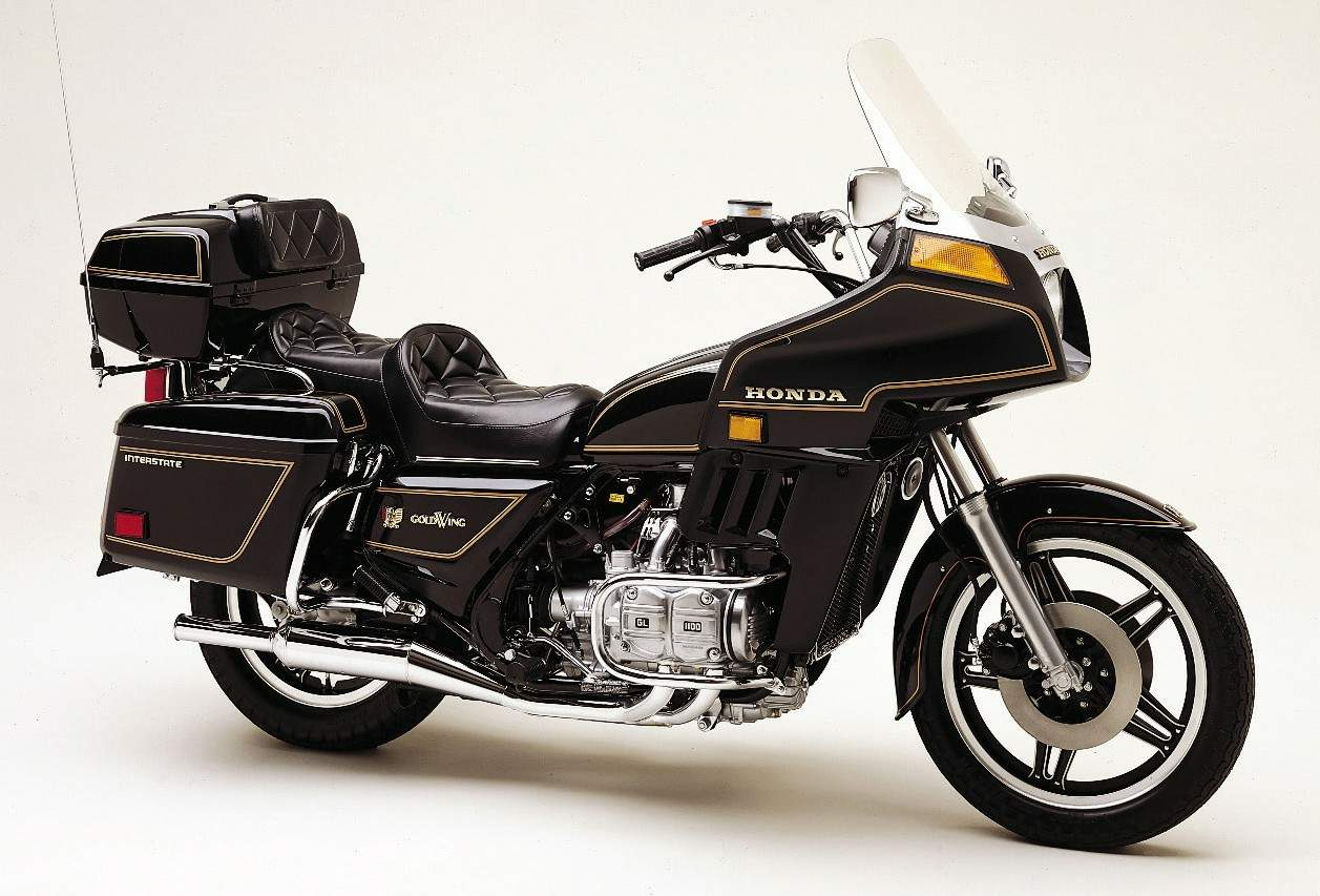 Мотоцикл Honda GL 1100 Gold Wing Interstate 1980
