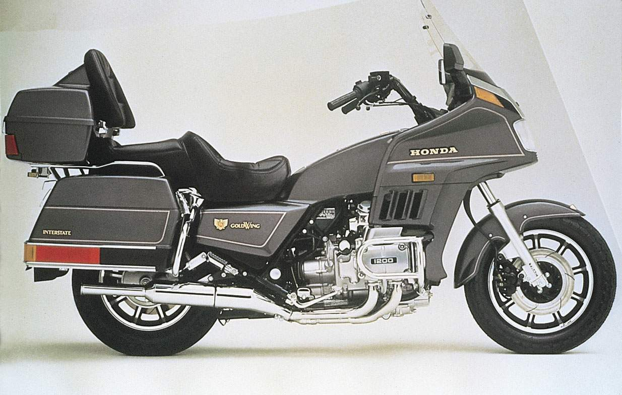 Мотоцикл Honda GL 1200 Gold Wing Interstate 1987