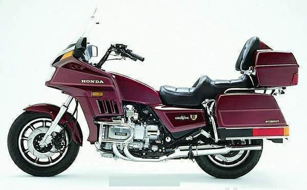 Мотоцикл Honda GL 1200 Gold Wing 1984