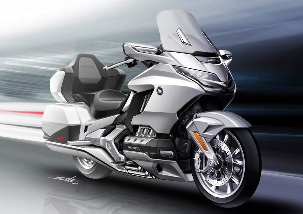Мотоцикл Honda GLX 1800 Gold Wing Tour 2018