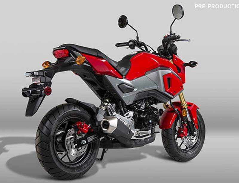 honda msx 125 grom monkey 2017. Black Bedroom Furniture Sets. Home Design Ideas