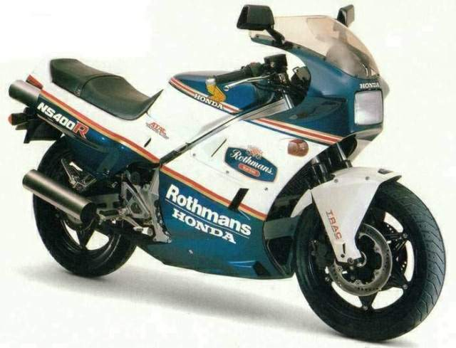 Мотоцикл Honda NS 400R Rothmans Replica 1986