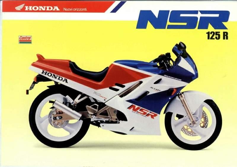 Мотоцикл Honda NX 125 Dominator 1989 Фото, Характеристики