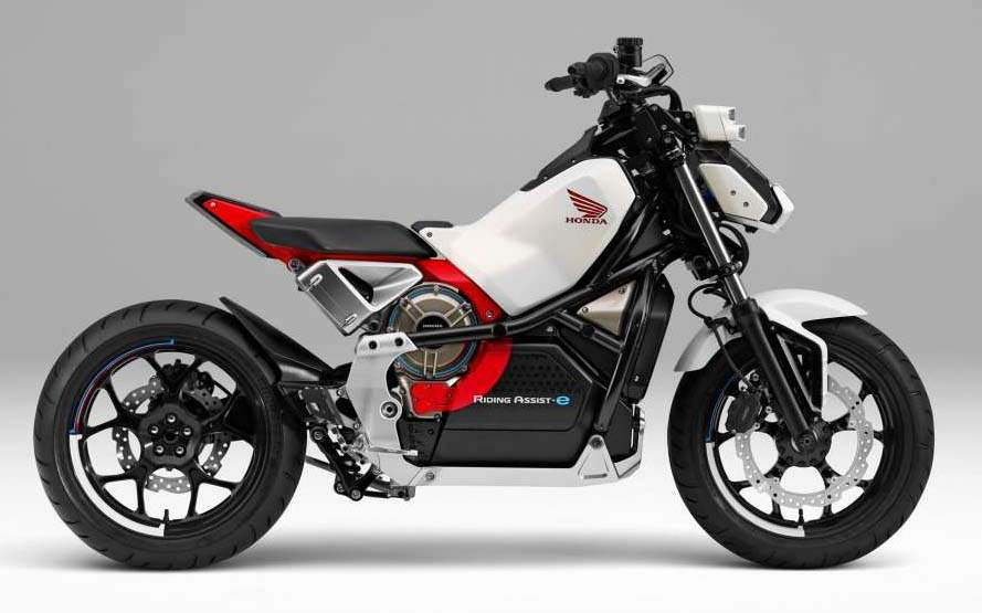 Мотоцикл Honda Riding Assist-e Concept 2018