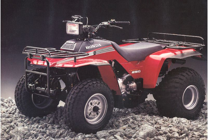Мотоцикл Honda TRX 250 R FOURTRAX 1987