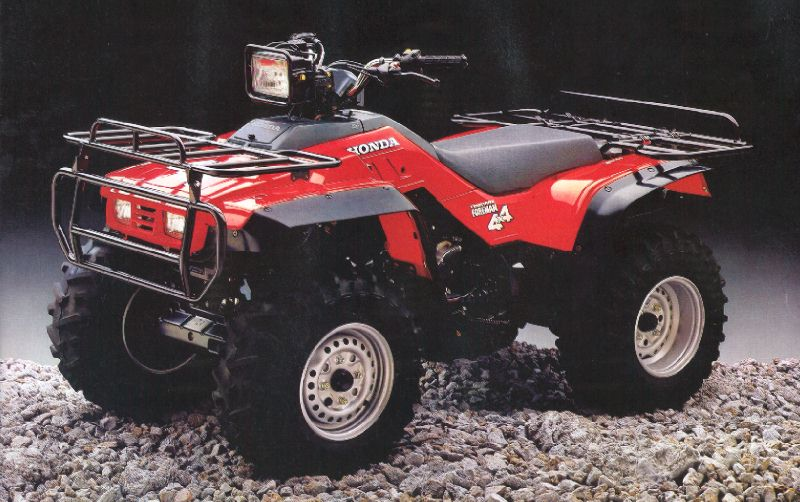 Мотоцикл Honda TRX 350 D FOURTRAX 1987