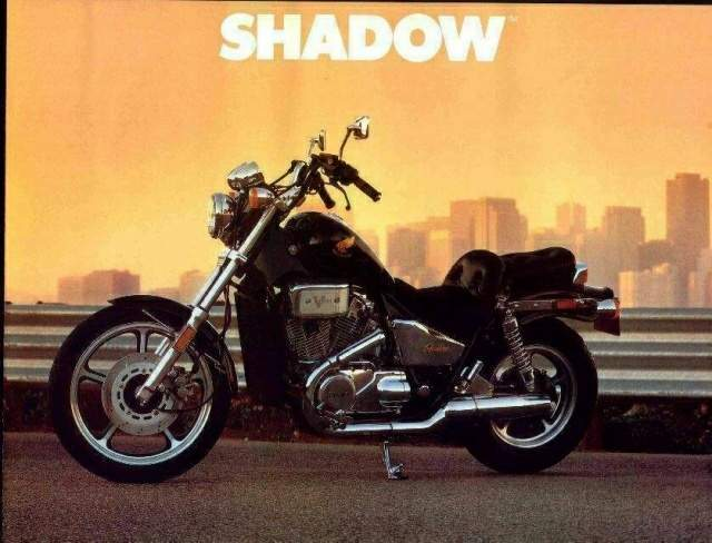 Мотоцикл Honda VT 700C Shadow 1985