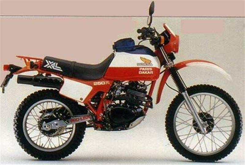 Мотоцикл Honda XL 250R Paris Dakar Limited Edition 1982