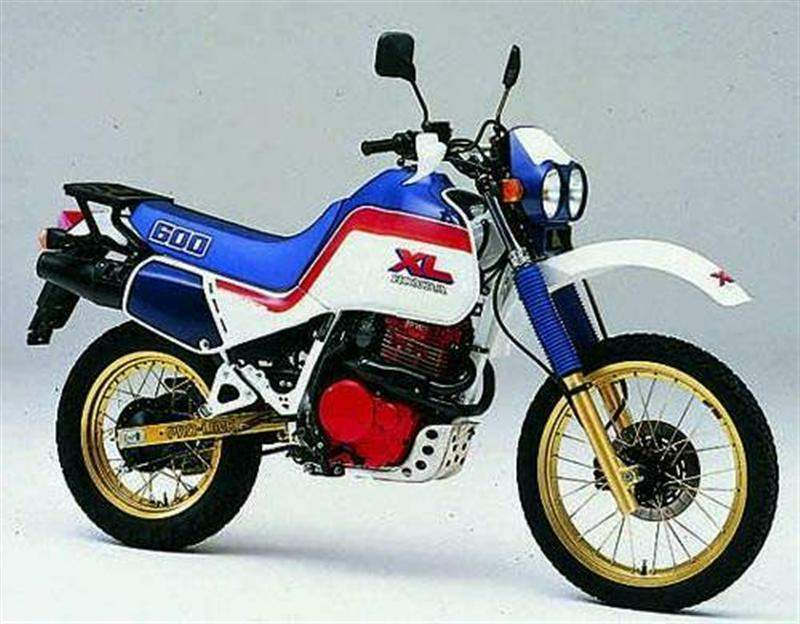 Мотоцикл Honda XL 600LM Limited Edition 1986