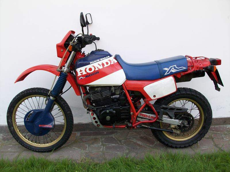 Мотоцикл Honda XL 600R Paris Dakar 1985