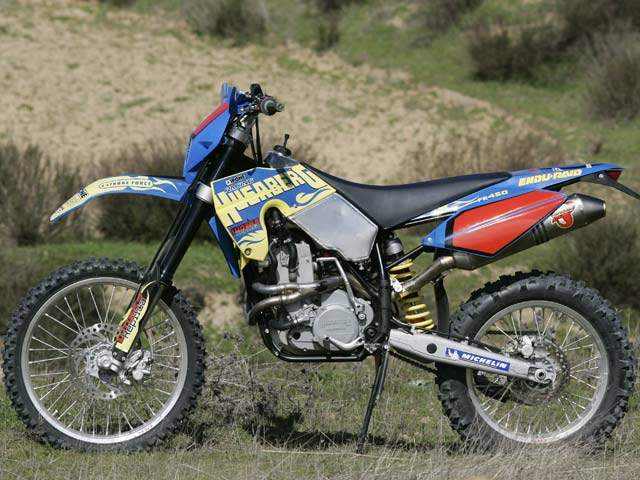 Мотоцикл Husaberg FE 450e Limited Edition 2007