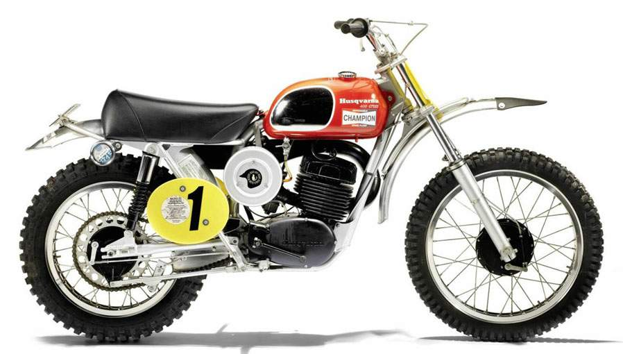 Мотоцикл Husqvarna 400 Cross 1971