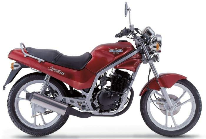 Мотоцикл Hyosung GF 125 Speed 2005