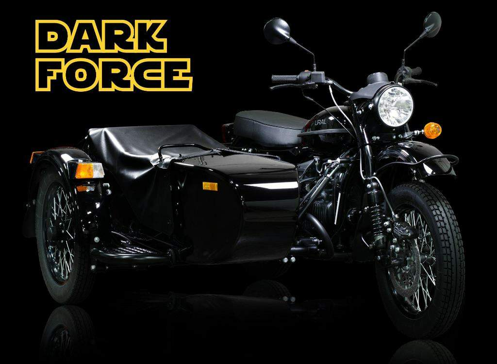 Мотоцикл ИМЗ УРАЛ cT Dark Force 2016