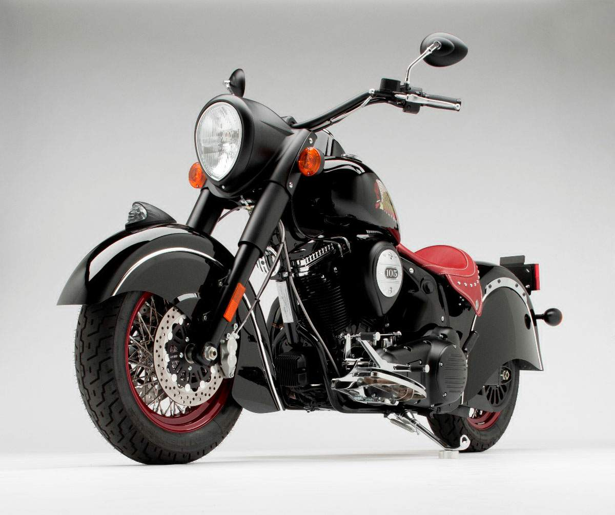 Мотоцикл Indian Chief Blackhawk Dark 2011