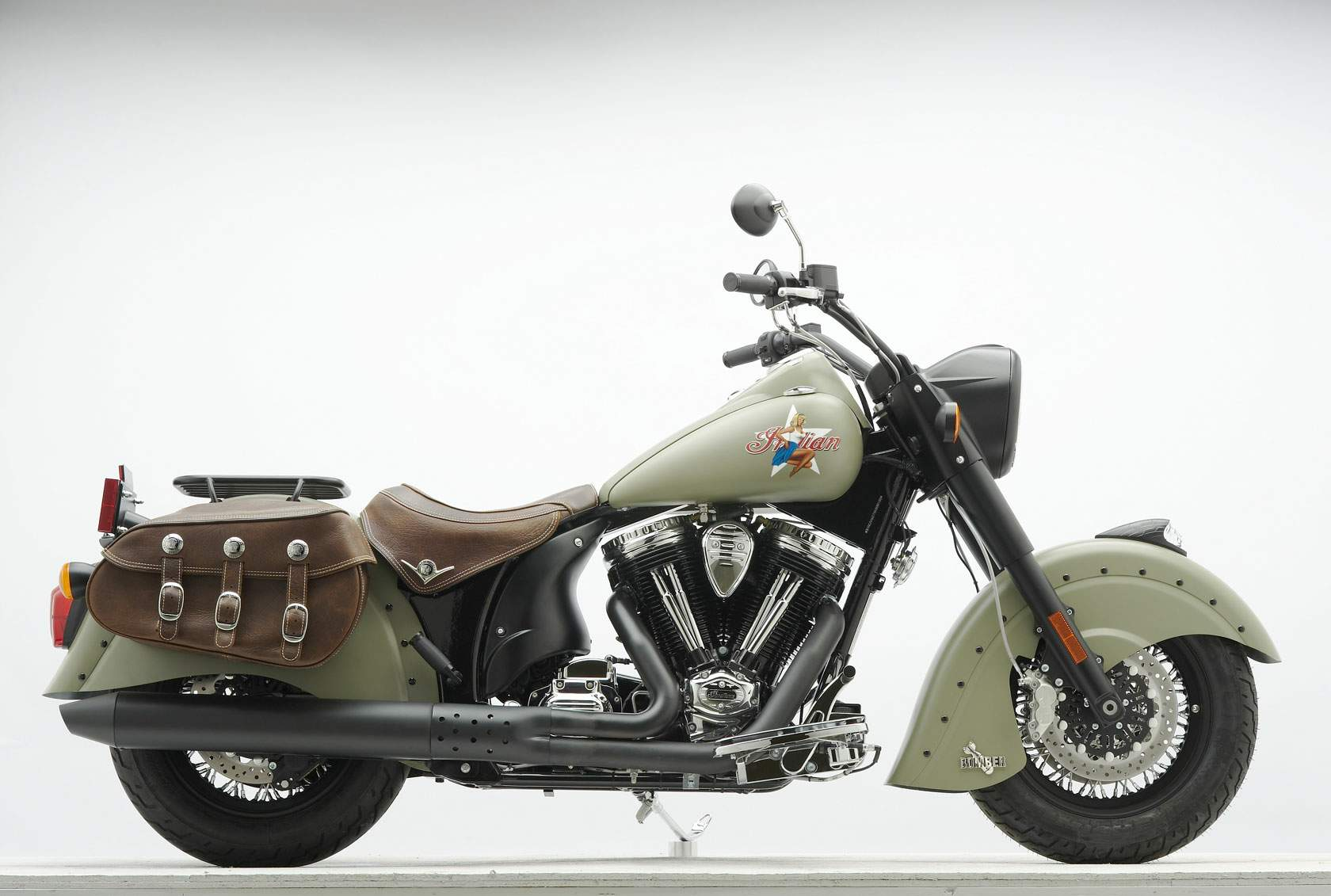 Мотоцикл Indian Chief Bomber Limited Edition 2010