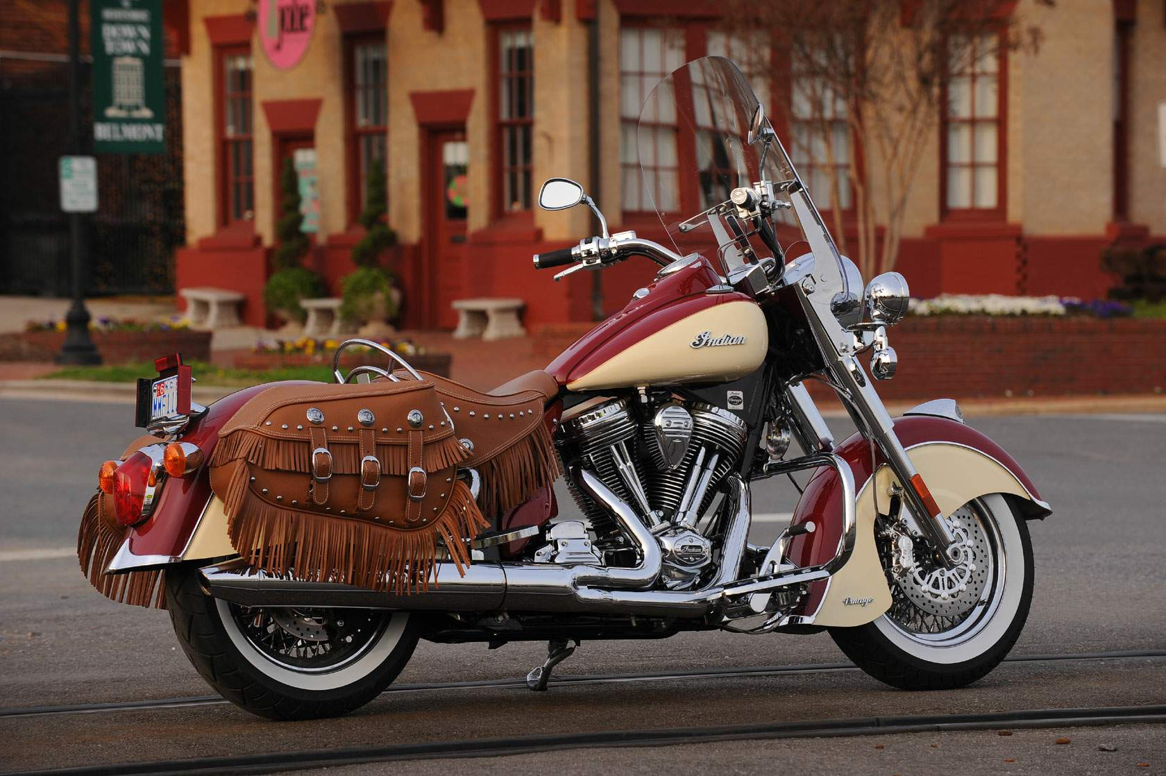 Мотоцикл Indian Chief Vintage 2011