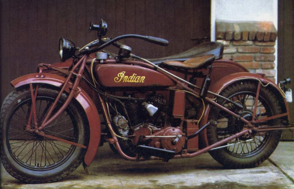 Мотоцикл Indian Chief 1923