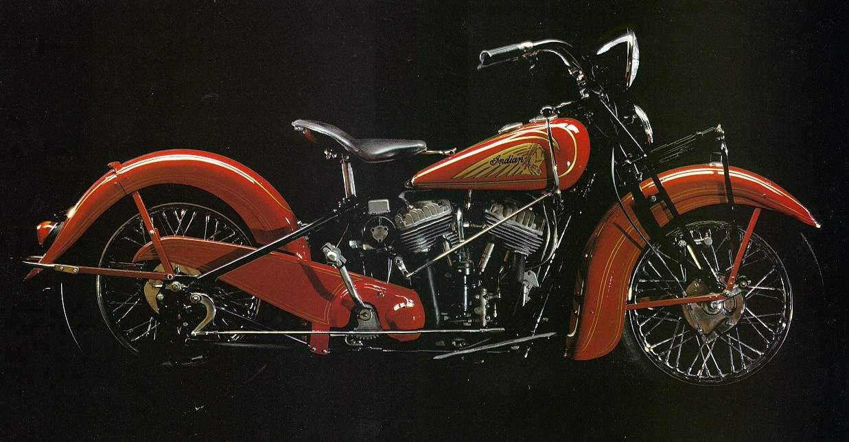 Мотоцикл Indian Chief 1938