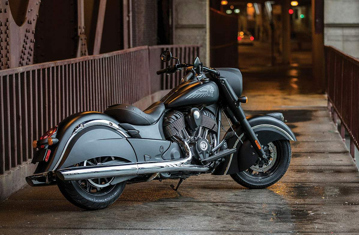 Мотоцикл Indian Chieftain Dark Horse 2016