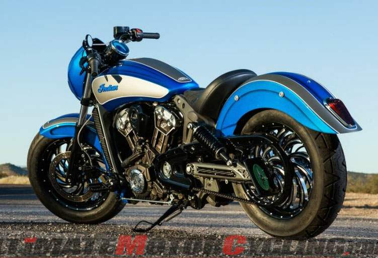 Мотоцикл Indian Scout 42 By Dirty Bird Concepts 2015