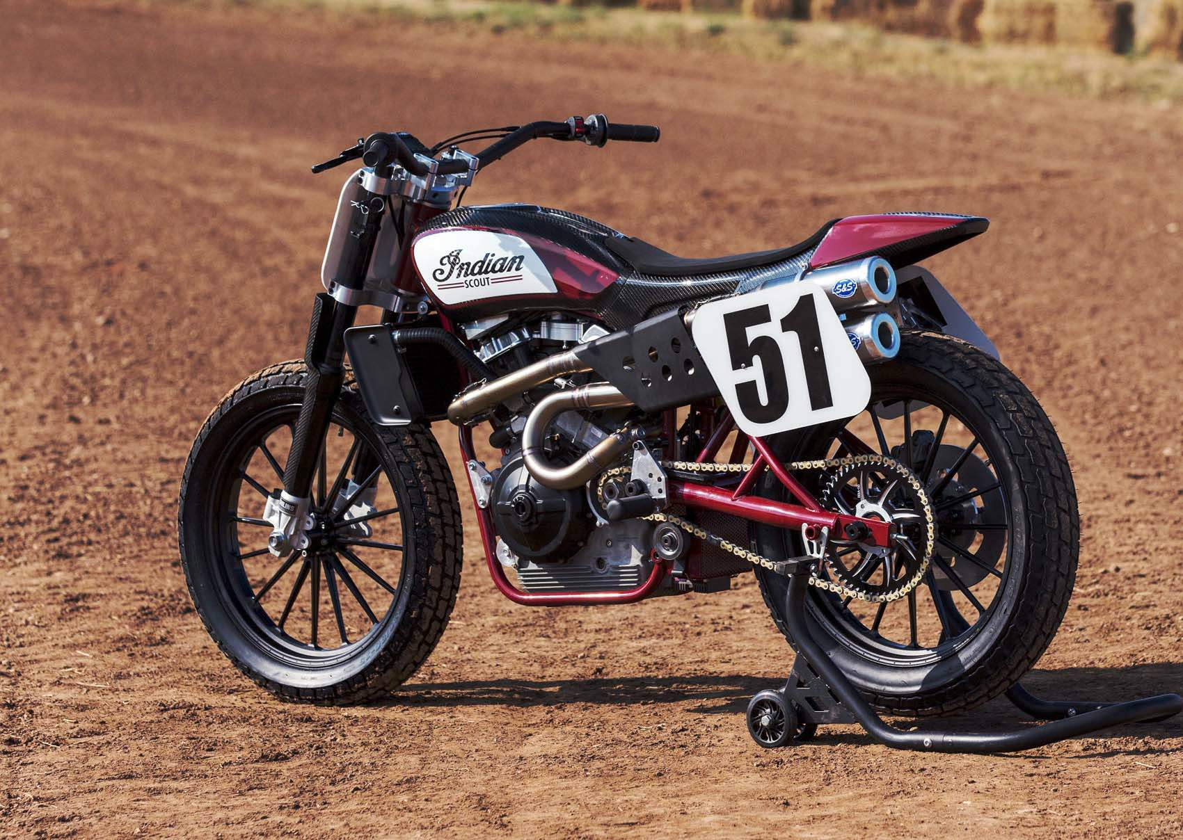 Мотоцикл Indian Scout FTR 750 Dirt Track 2016