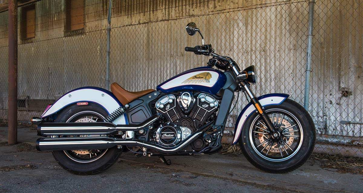 Мотоцикл Indian Scout 2017