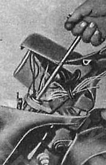 Вытягивание несущей трубки