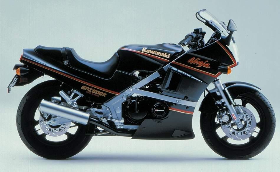 мотоцикл Kawasaki Gpz 600r Ninja 1986 описание фото запчасти цена