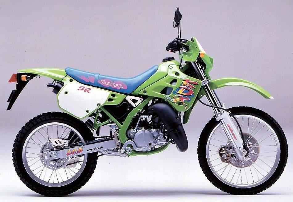 Kawasaki Kdx  Sr Review