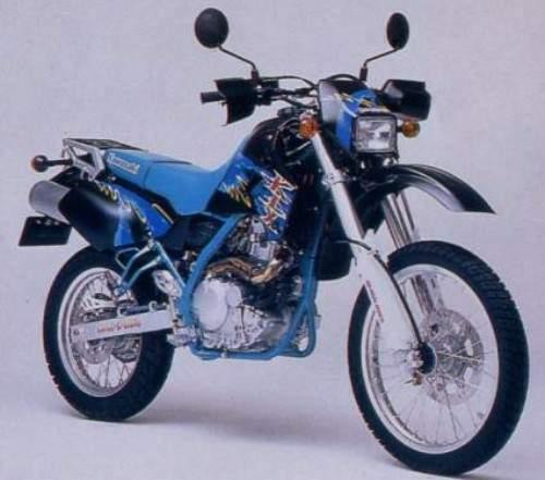 kawasaki klx 650r: